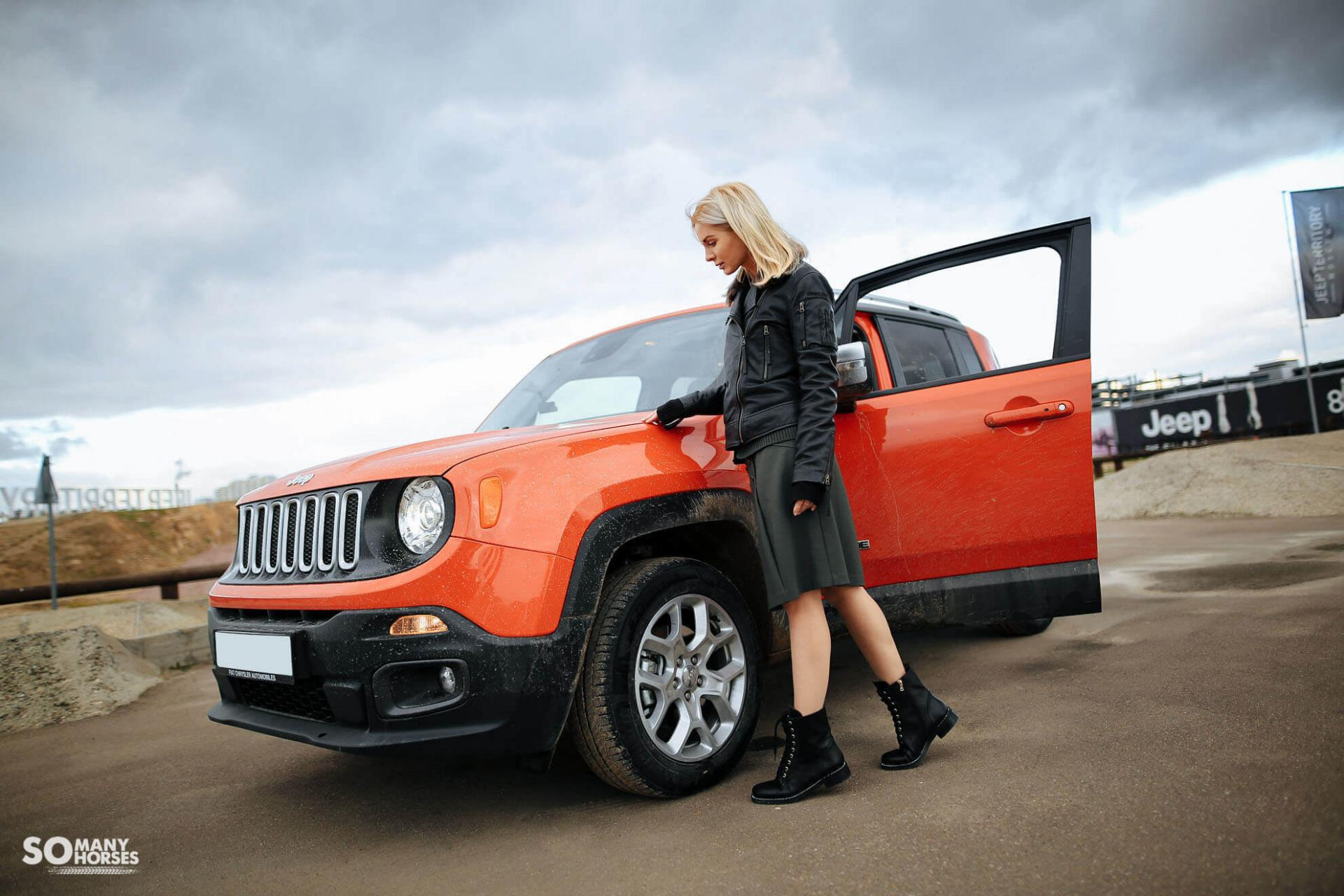 Тест-драйв Jeep Renegade: всем хорош