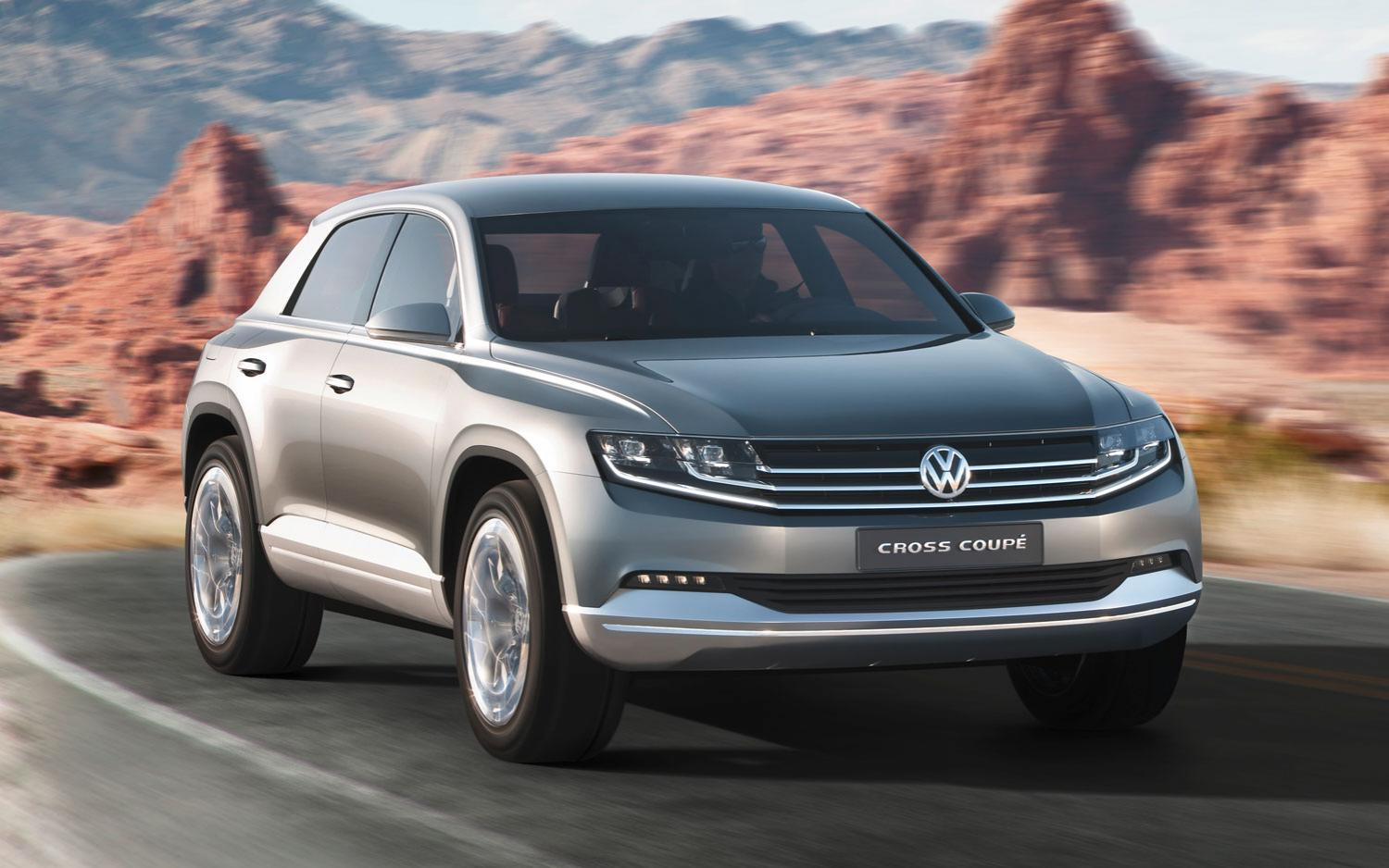 Новинки от Volkswagen: Tiguan Coupe и Arteon Shooting Brake