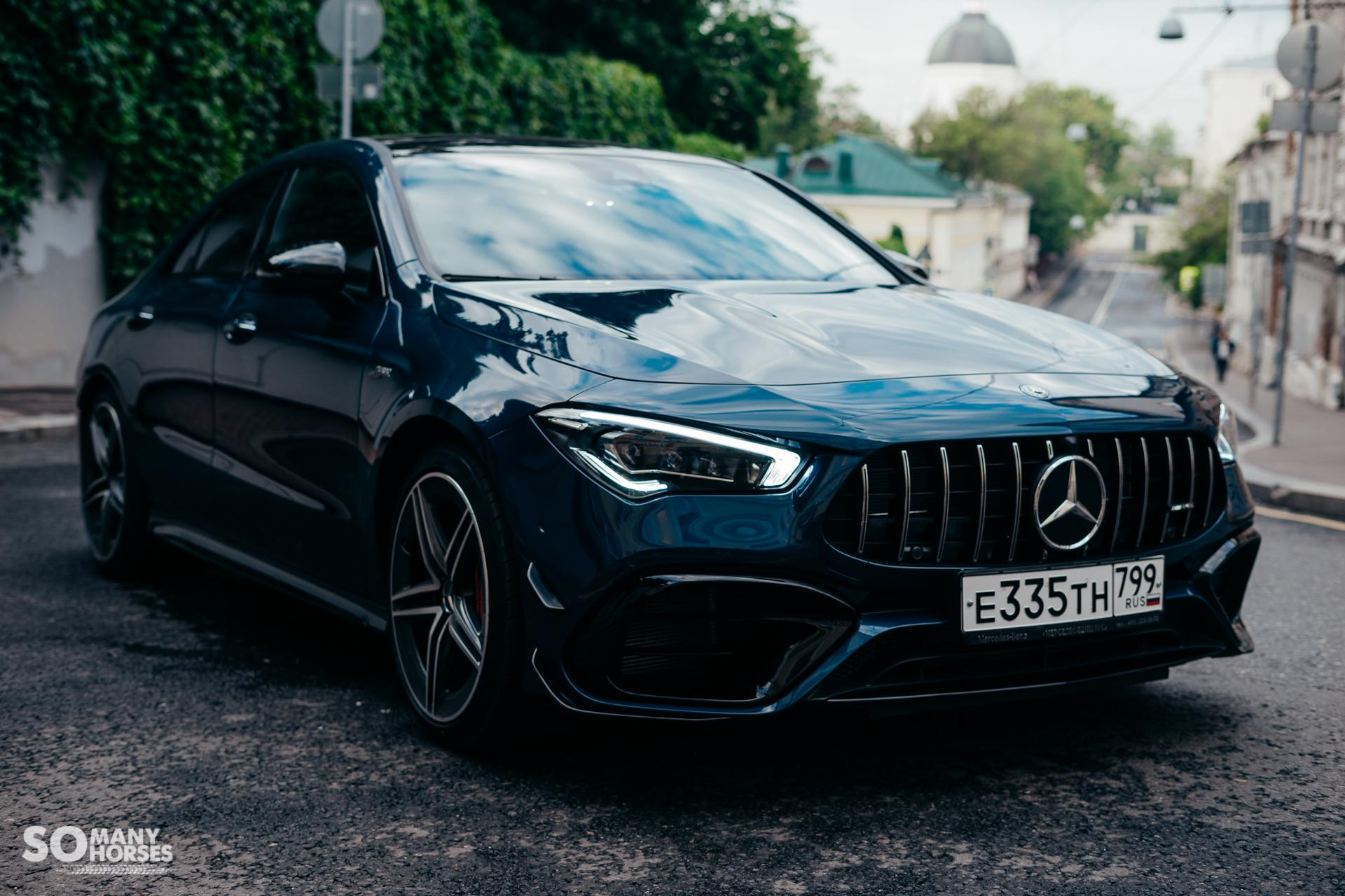 Тест-драйв Mercedes-AMG CLA 45 S 4MATIC+: генератор эмоций