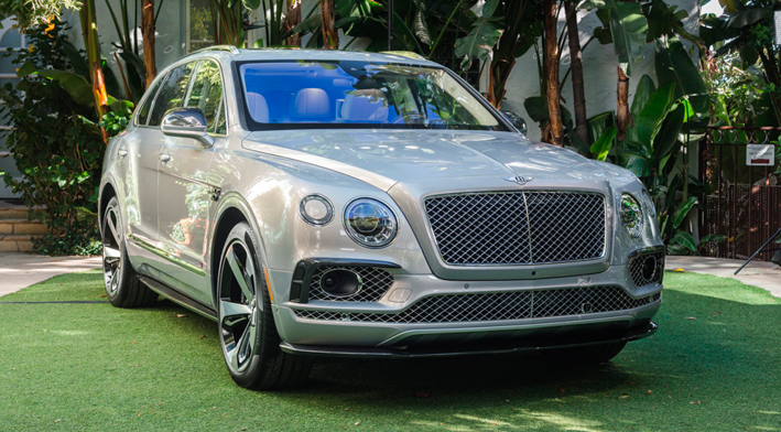Первая спецверсия Bentley Bentayga